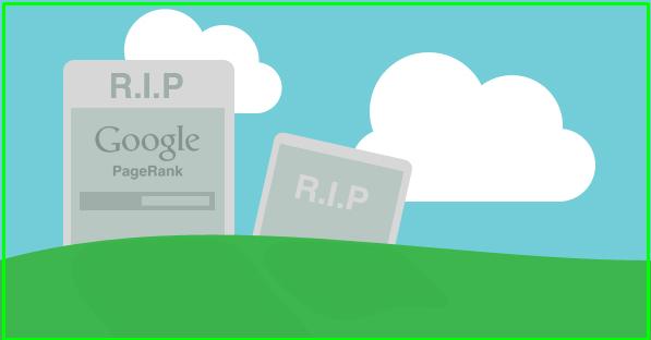 جوجل تعلن رسميا ترتيب البيج رانك PageRank انتهي تماما